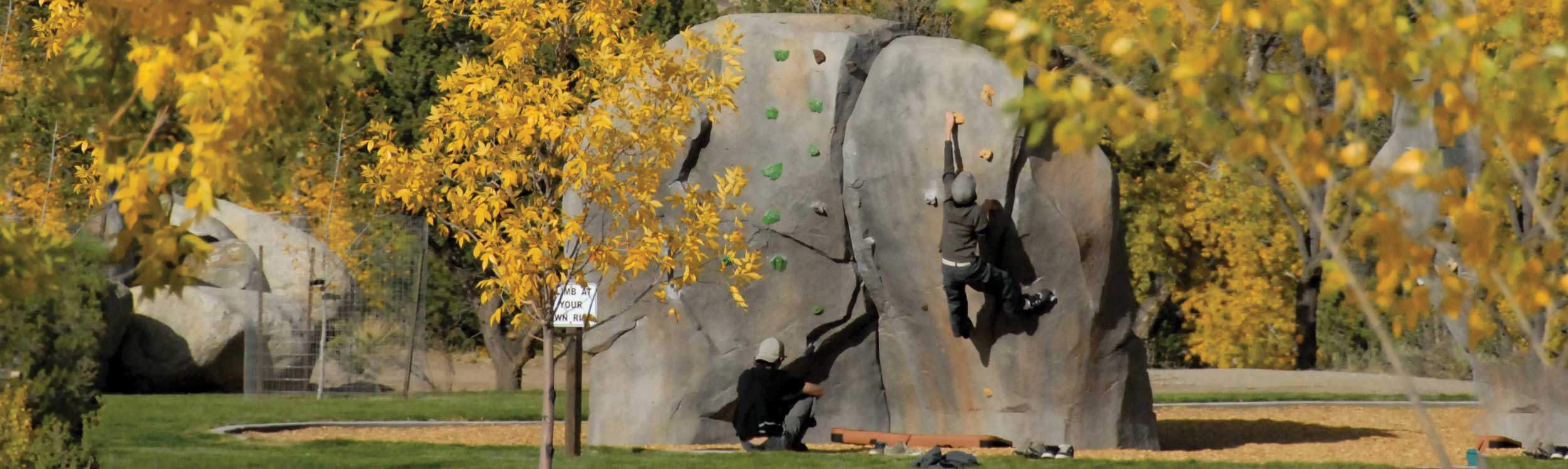Rock Climbing Sculpture Park Equipment