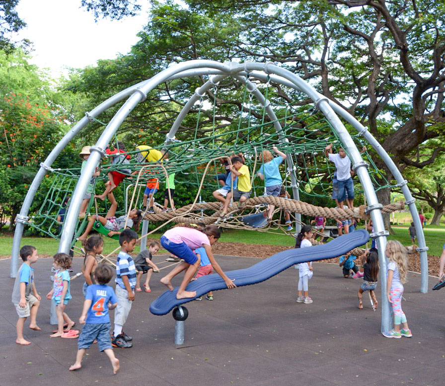 Honolulu Zoo Playground