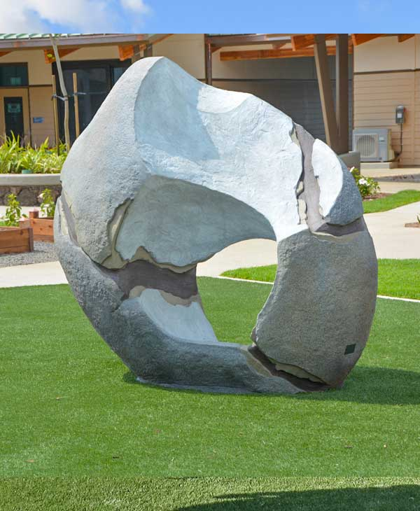 Space rock climbing sculpture for parks and playgrounds