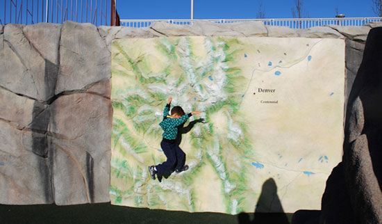 Climbing Maps form IDS - modenr rock climbing play structures