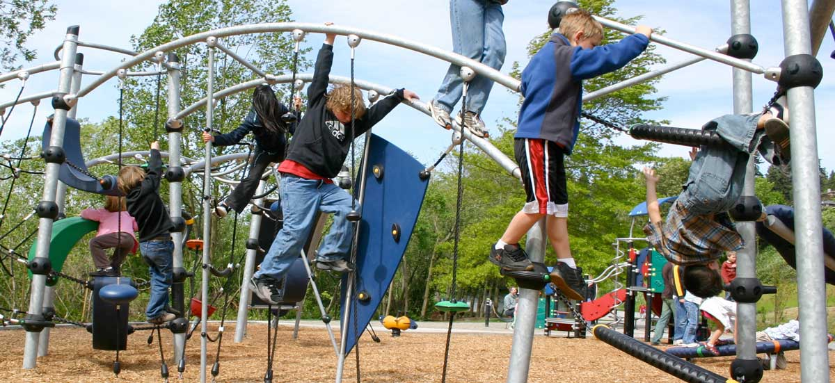 High play value playground sructures