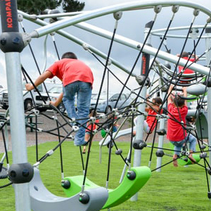 Highwire designed playgrounds and parks