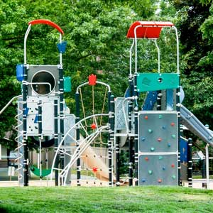 Commercial Playground Structure