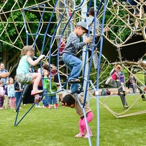 Seattle Center playground structure