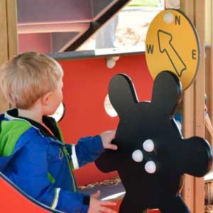 Safe Toddler park equipment
