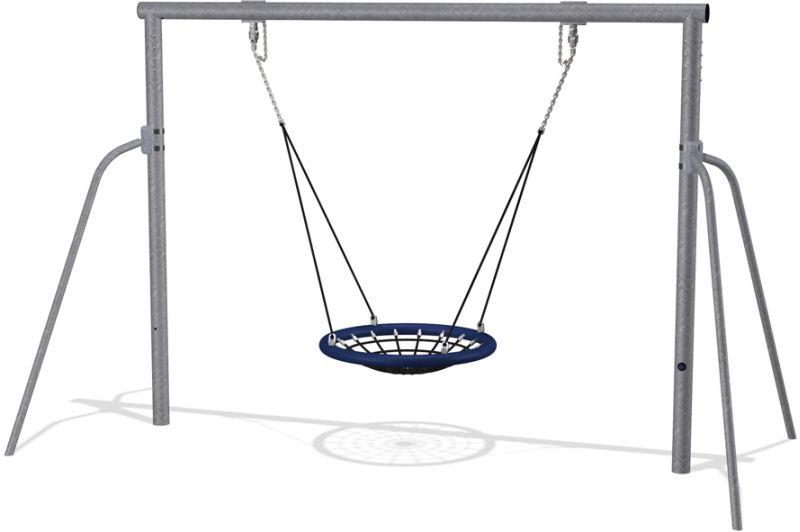 KOMPAN Single Bay Swing