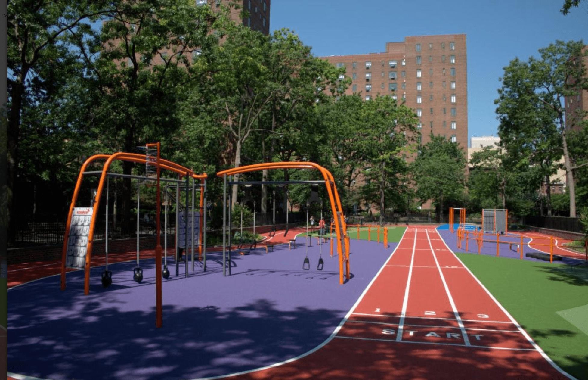 KOMPAN Adult Playgrounds