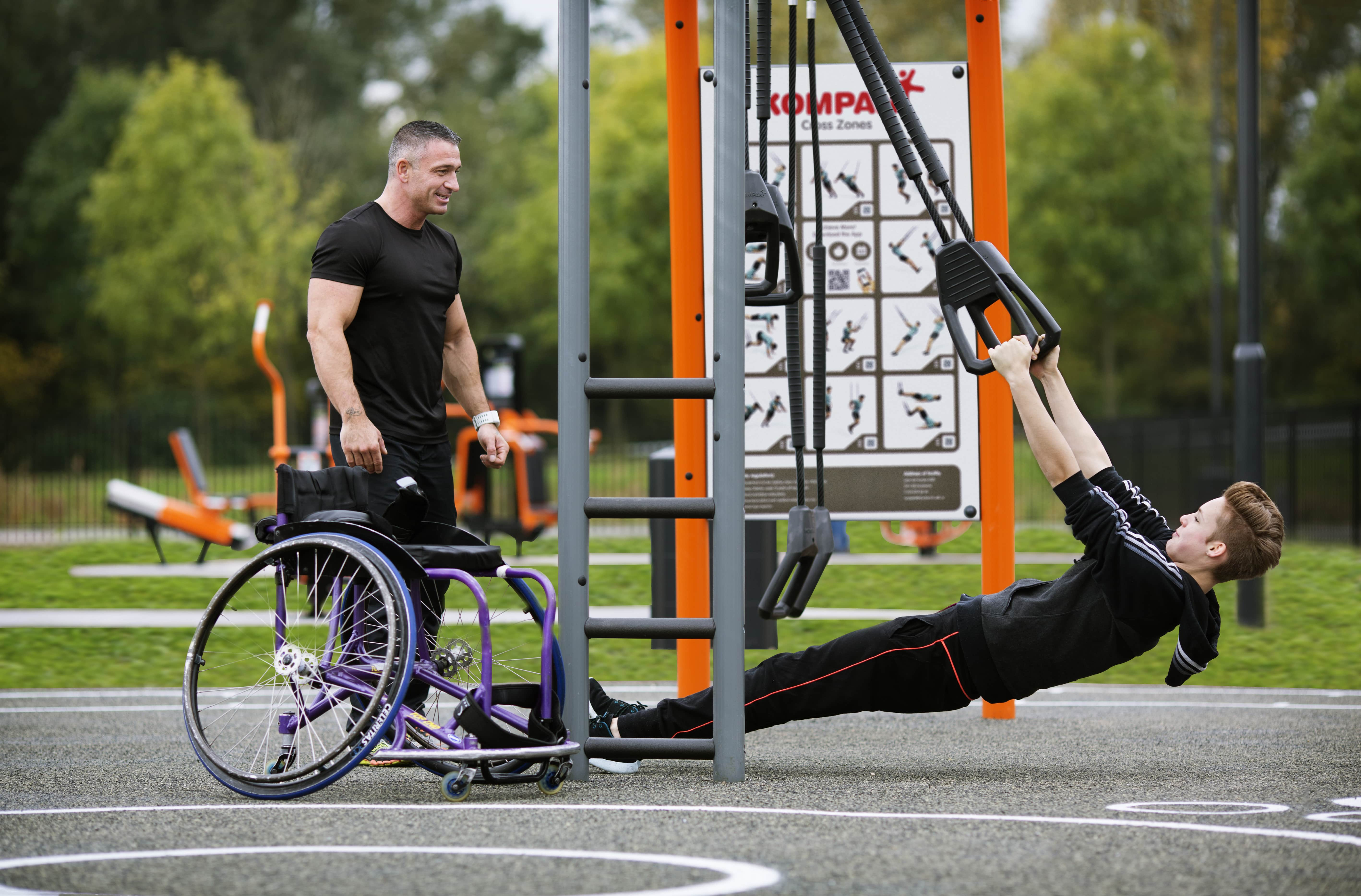 Inclusive Playgrounds for children with special needs