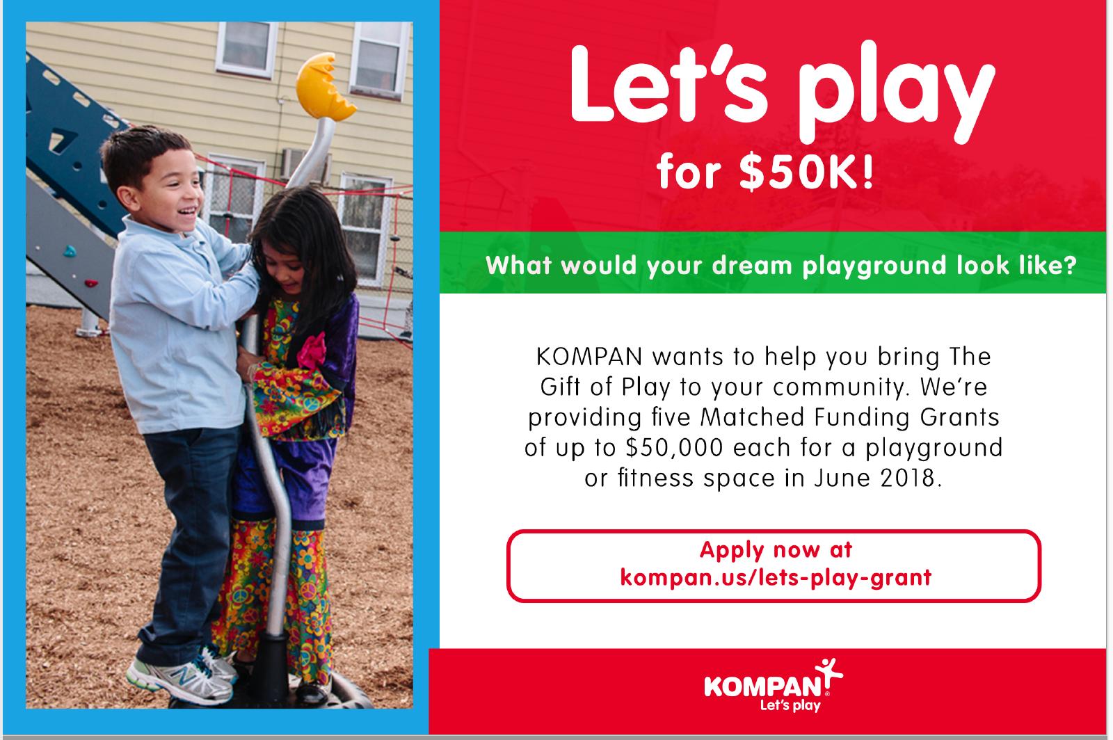 Dream Playground Matching Funds