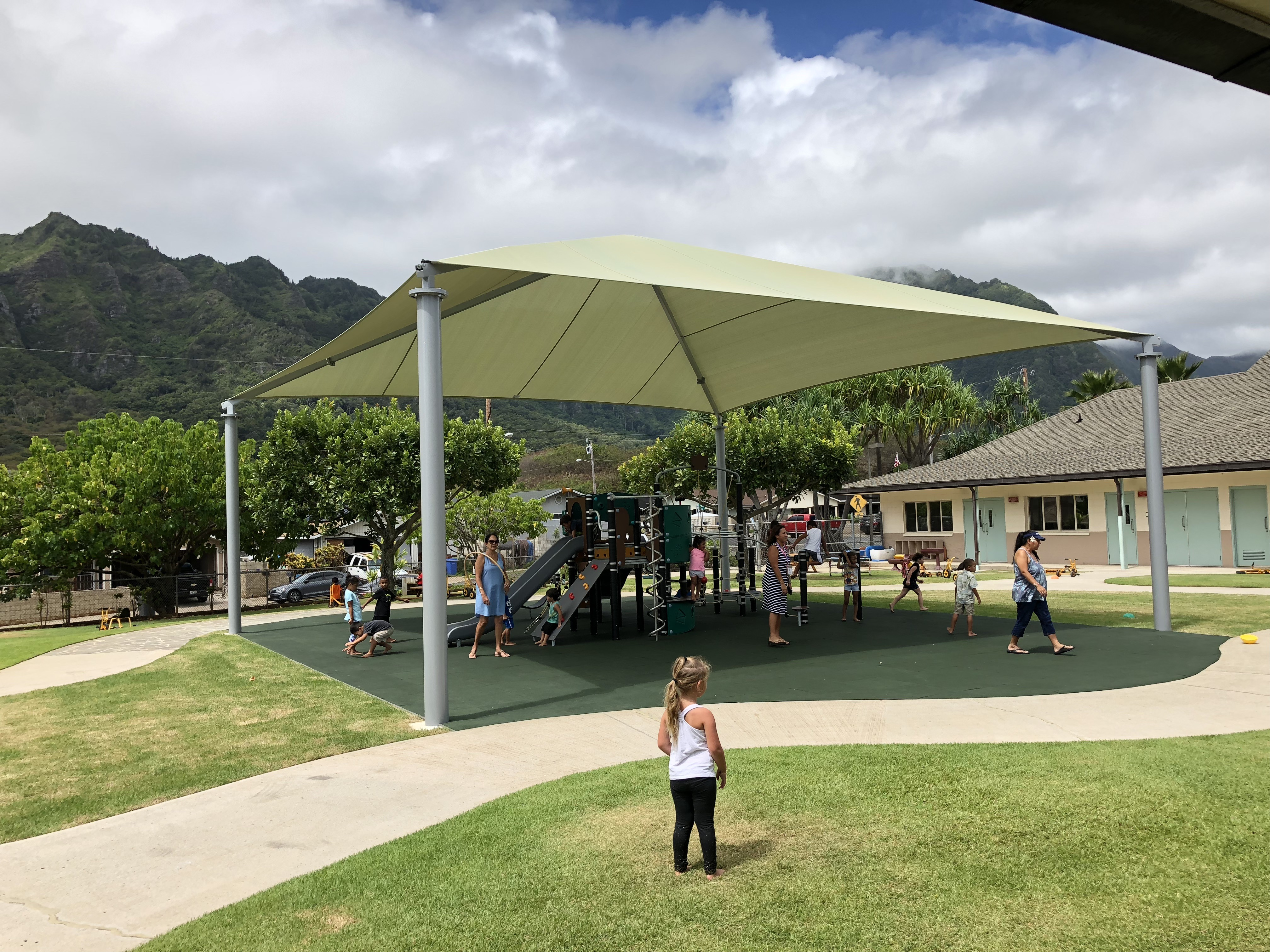 awnings, tents, shade structures parks and playgrounds