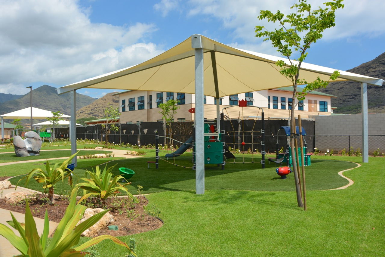Awning and Shade Structures for Playgrounds