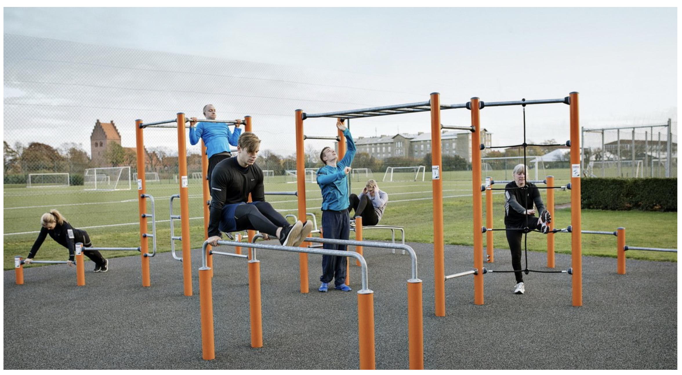 KOMPAN Outdoor Fitness Equipment