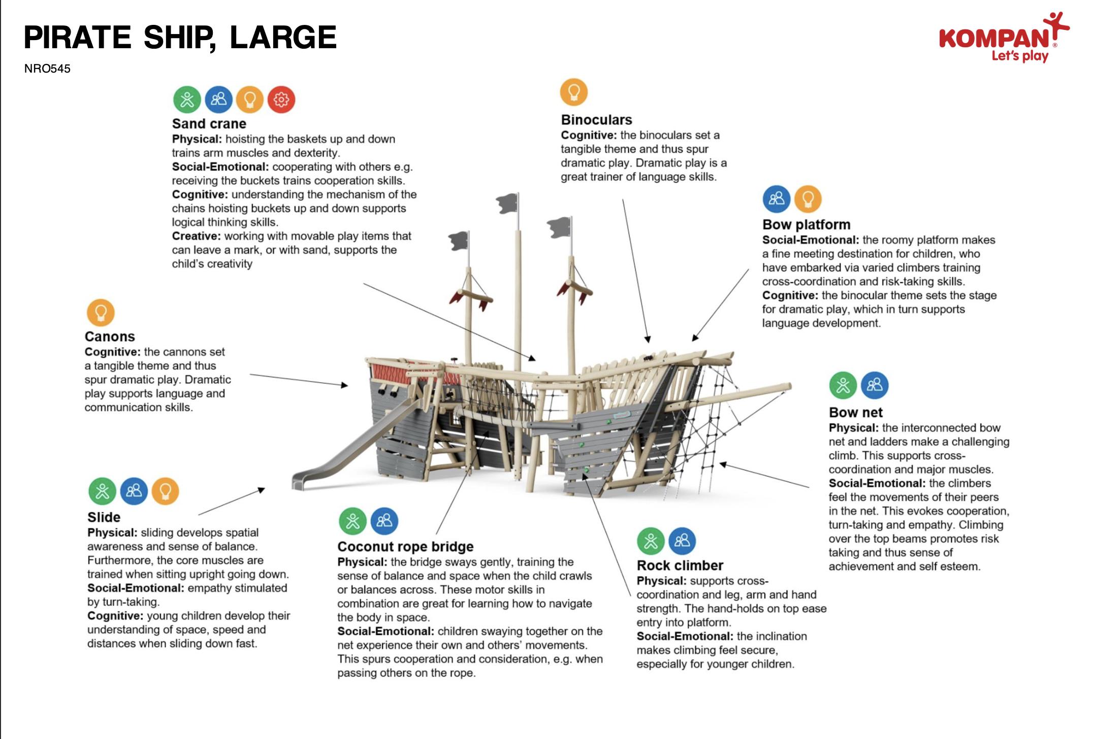 KOMPAN Pirate Ship