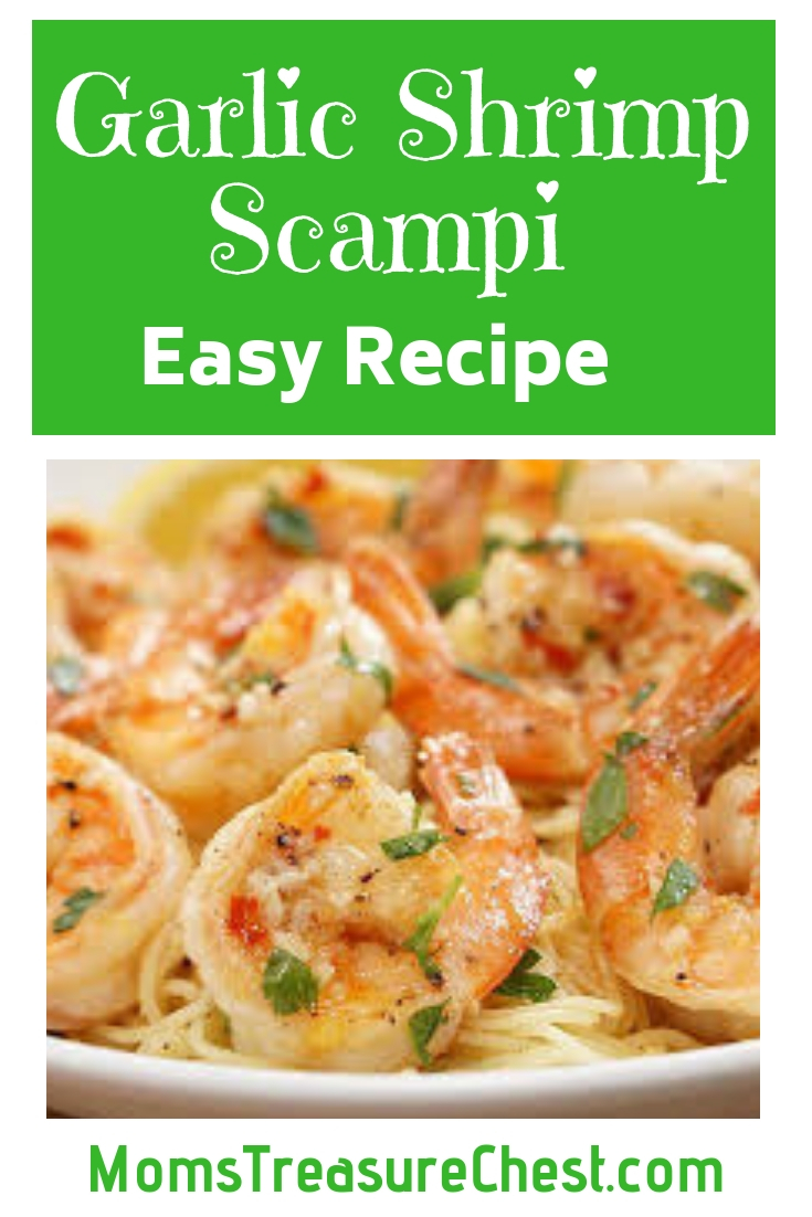 easy shrimp scampi recipe