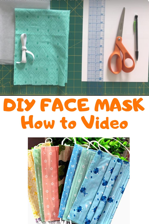 DIY Coronavirus Face Mask