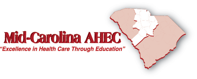 Mid-Carolina-AHEC-w-map