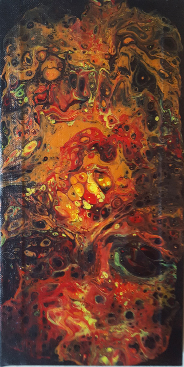 """""""Lost Souls"""" - painting on canvas"""