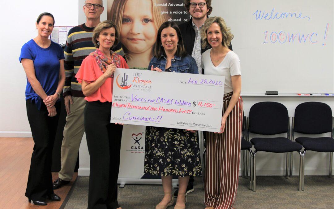100+ Women Who Care Donates $11,150 to Scottsdale-Based Nonprofit