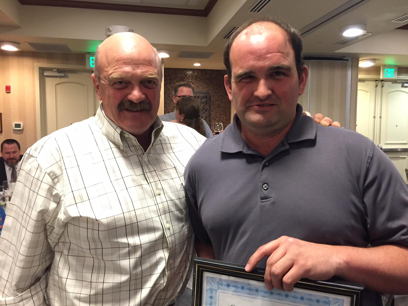 Ricky Brennan Receives Caring Community Award