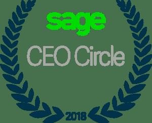 Sage CEO Circle logo 2018