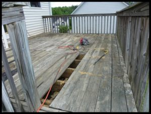 Deck Repair Weirton, West Virginia