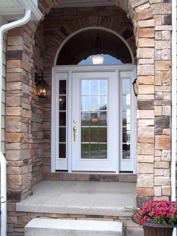 glass entry doors st. louis with sidelights   entrance & front doors Front Door Replacement - Front Door