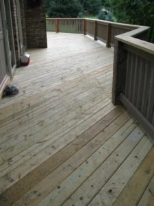 Deck Maintenance Weirton, West Virginia