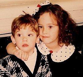 Chet Holmes' Children: Jordan and Amanda