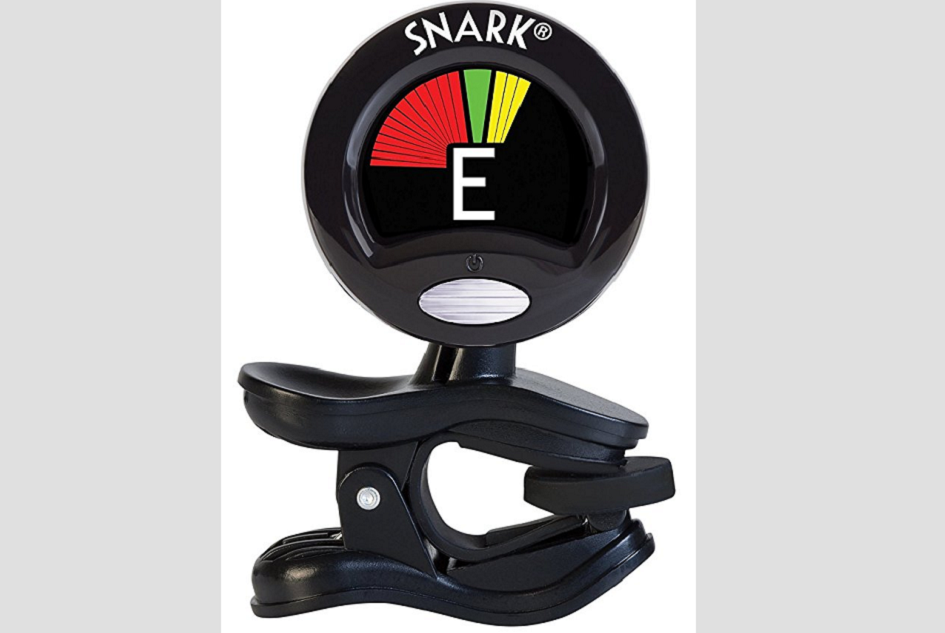 how to tune a guitar with a snark tuner