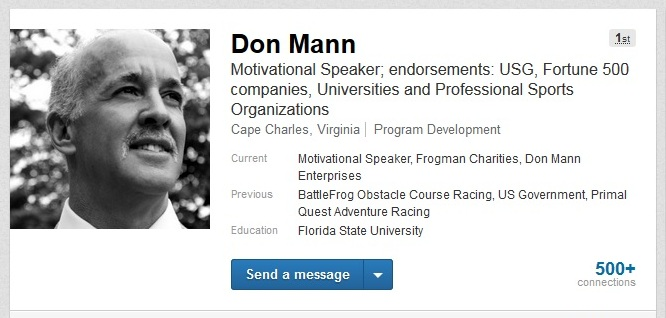 Project Transition USA Group Celebrates It's 3,000th Member, Don Mann, Former Navy SEAL Team 6 Instructor