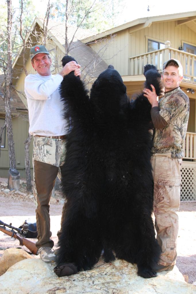 AZ Big Game Super Raffle Bear Winner
