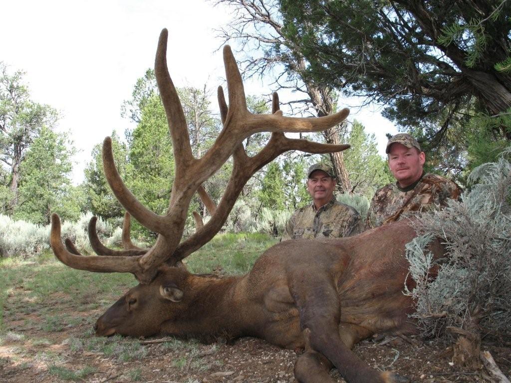 AZ Big Game Super Raffle Elk Winner