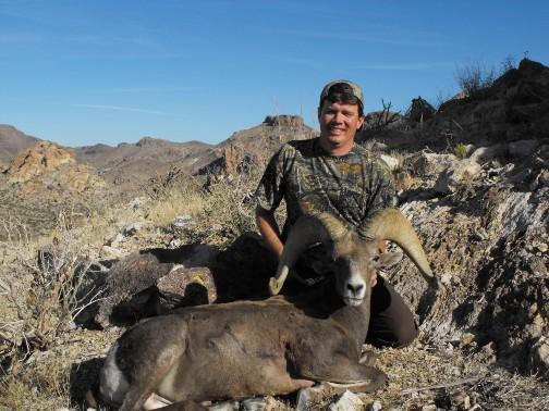 AZ Big Game Super Raffle Desert Bighorn SheepWinner