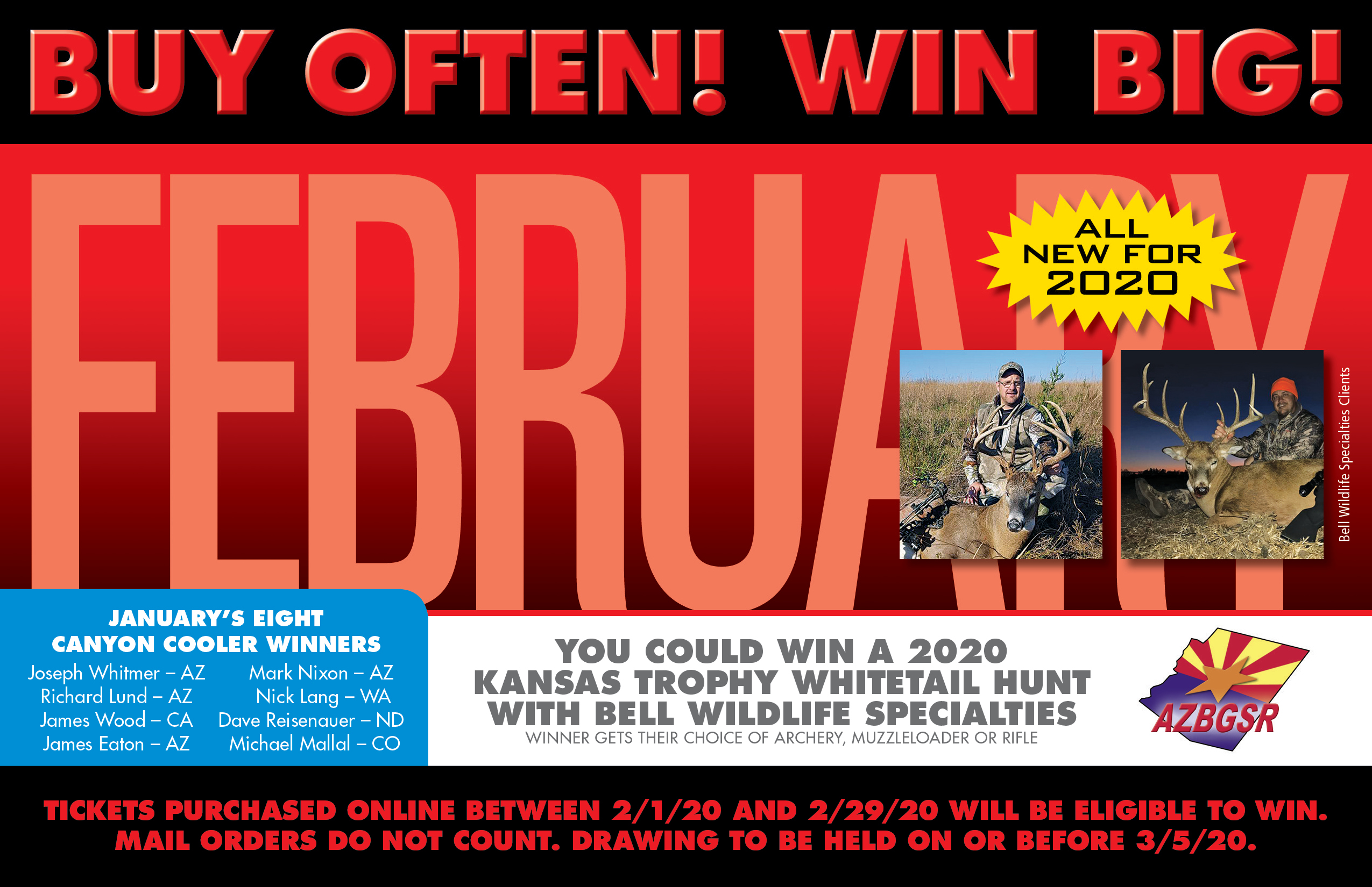 Kansas Whitetail Hunt Bonus Prize