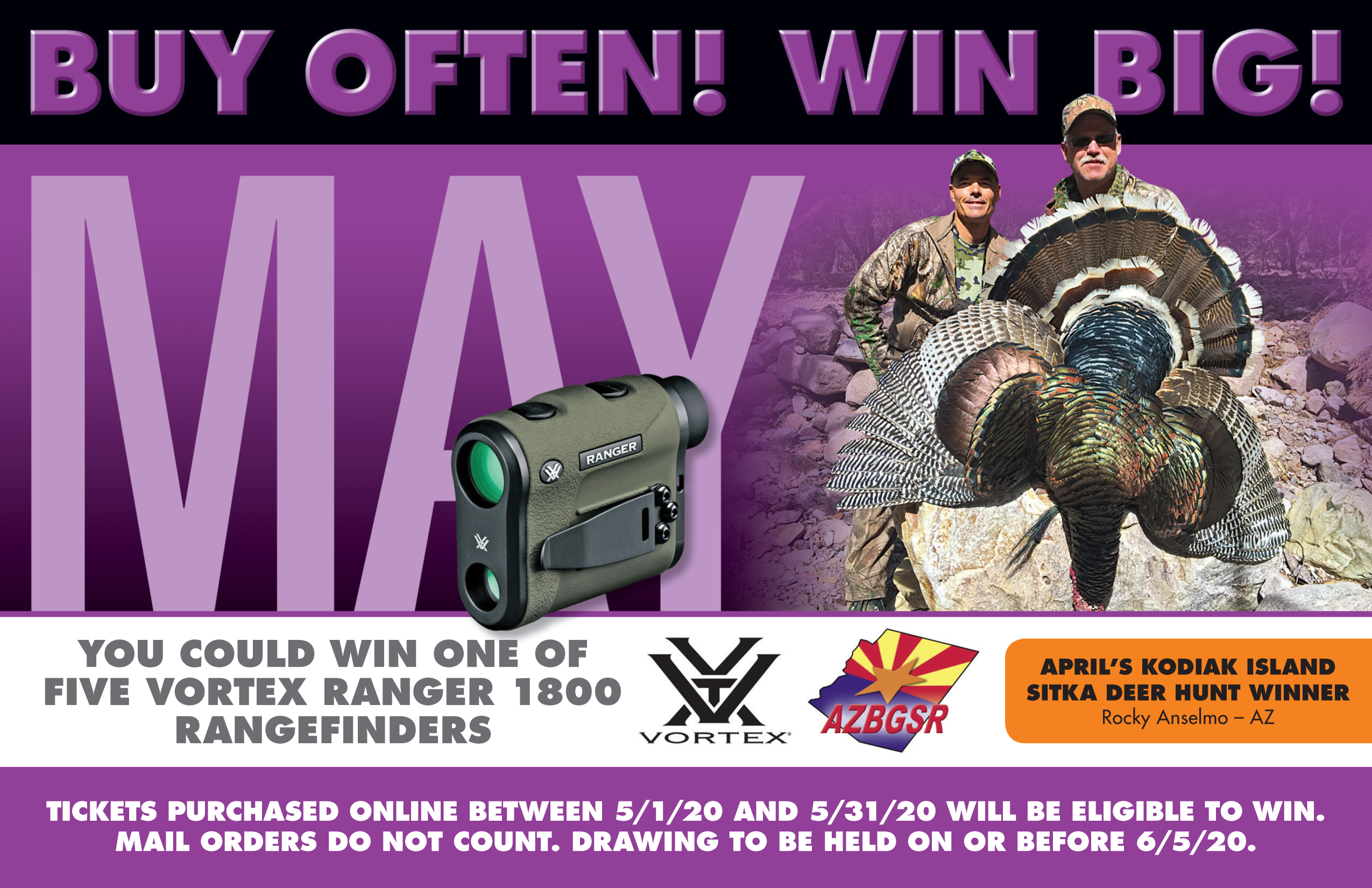 May Bonus Prize Vortex Ranger