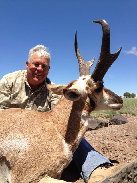 AZ Big Game Super Raffle 2010 Pronghorn Antelope Winner