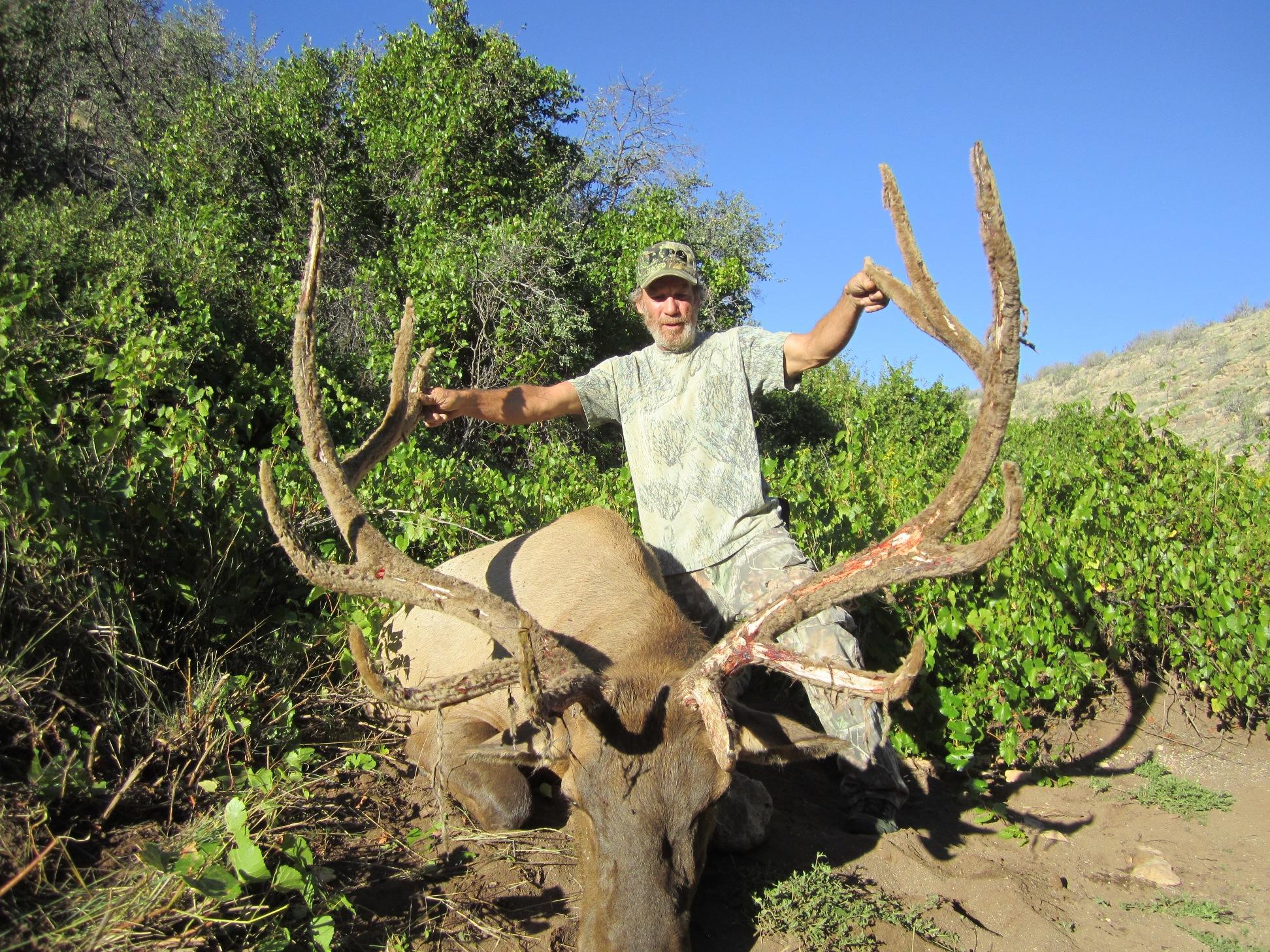 AZ Big Game Super Raffle 2014 Elk Winner