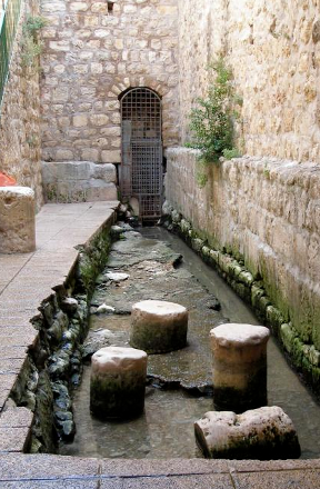 Jerusalem's Three Flood Stages