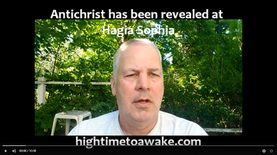 Antichrist revealed at Hagia Sophia