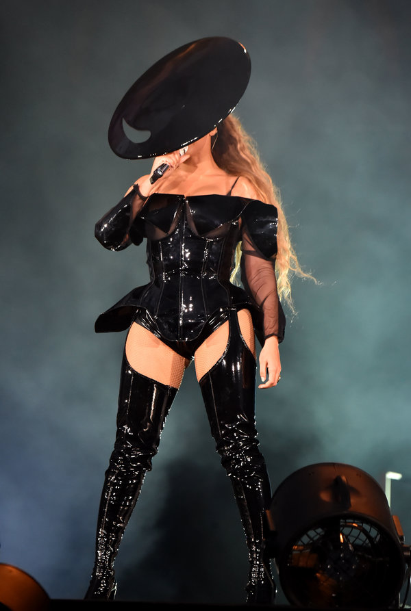All Of Beyonces Show-Stopping On The Run II Tour Outfits  News Media