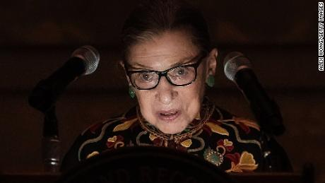 Ruth Bader Ginsburg's absence creates uncertainty about Supreme Court's present and future