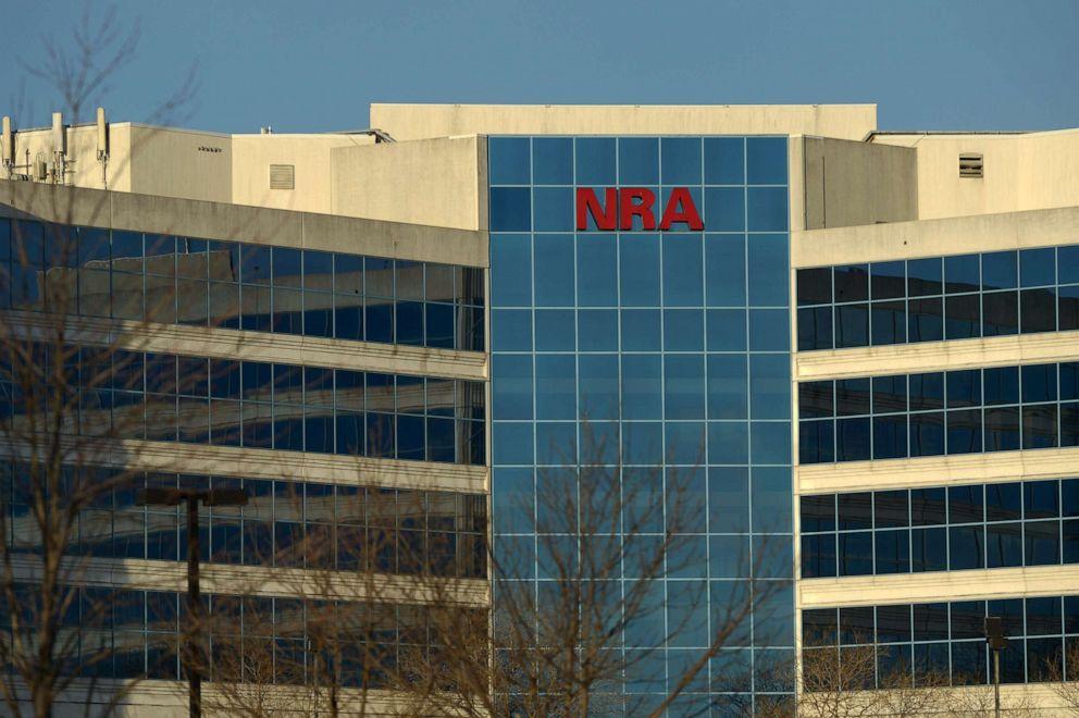 PHOTO: The National Rifle Association of America headquarters building in Fairfax, Va., Jan. 10, 2013.