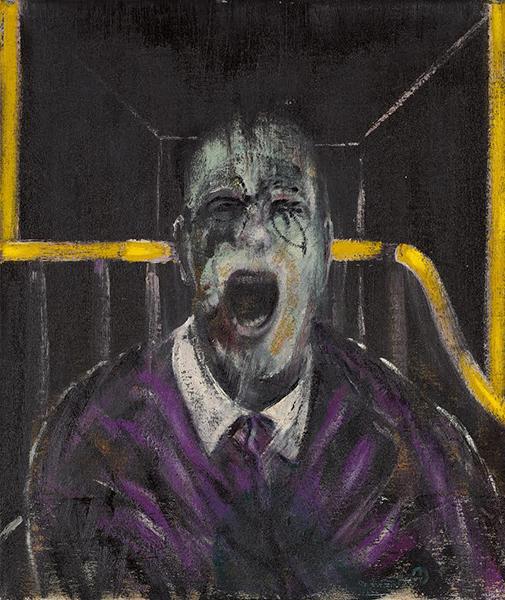 Francis Bacon Study For a Head