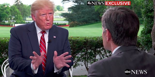 George Stephanopoulos' heavily promoted Sunday night interview with President Trump attracted 3.91 million viewers.