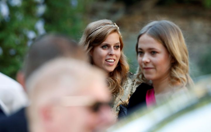 A glimpse of Princess Beatrice of York.