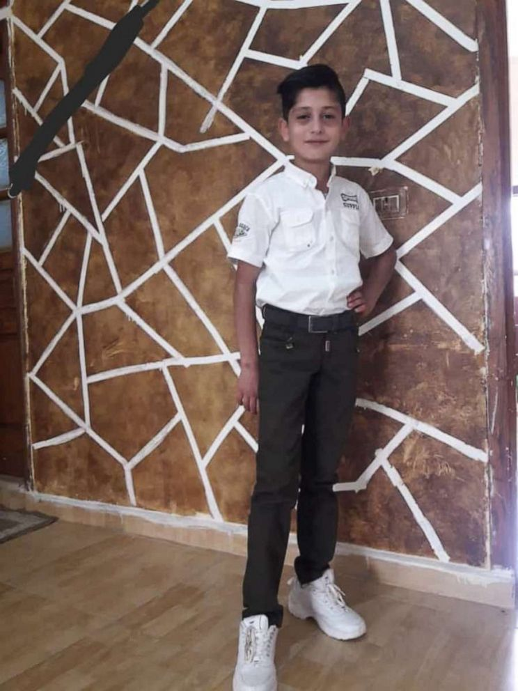 PHOTO: The blast also killed Saras older brother Mohammed. He was just 13 years old.