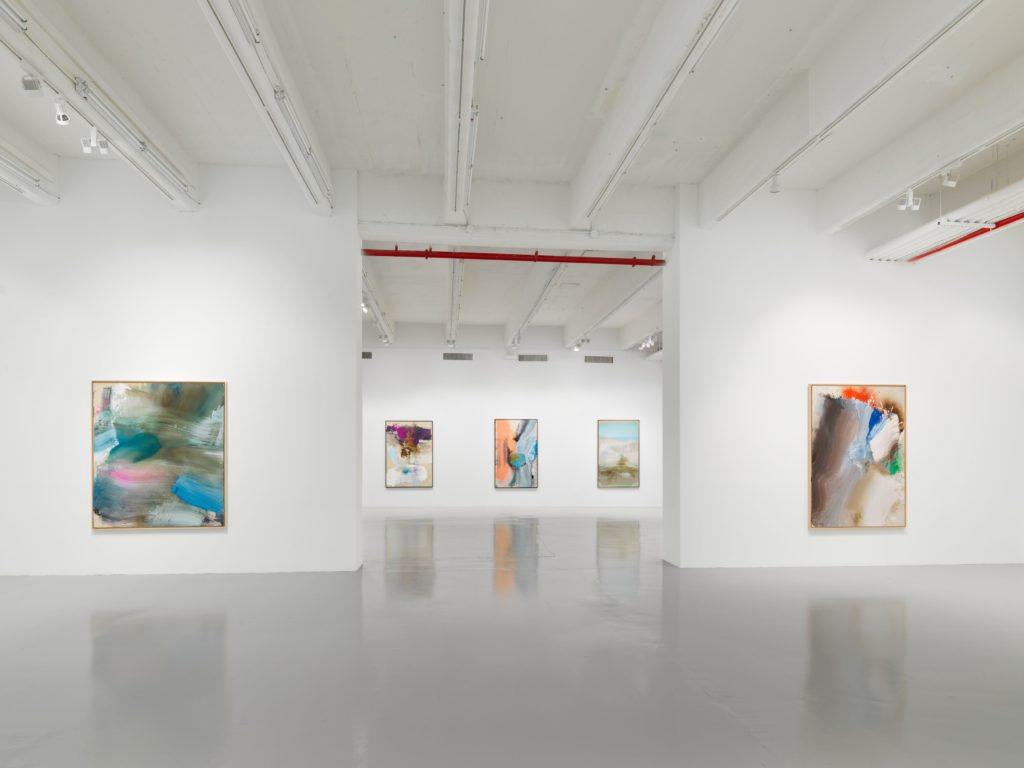 Installation view of 'Ed Clark Paintings, 2000–2013' at Hauser & Wirth, New York, West 22nd Street, 2019