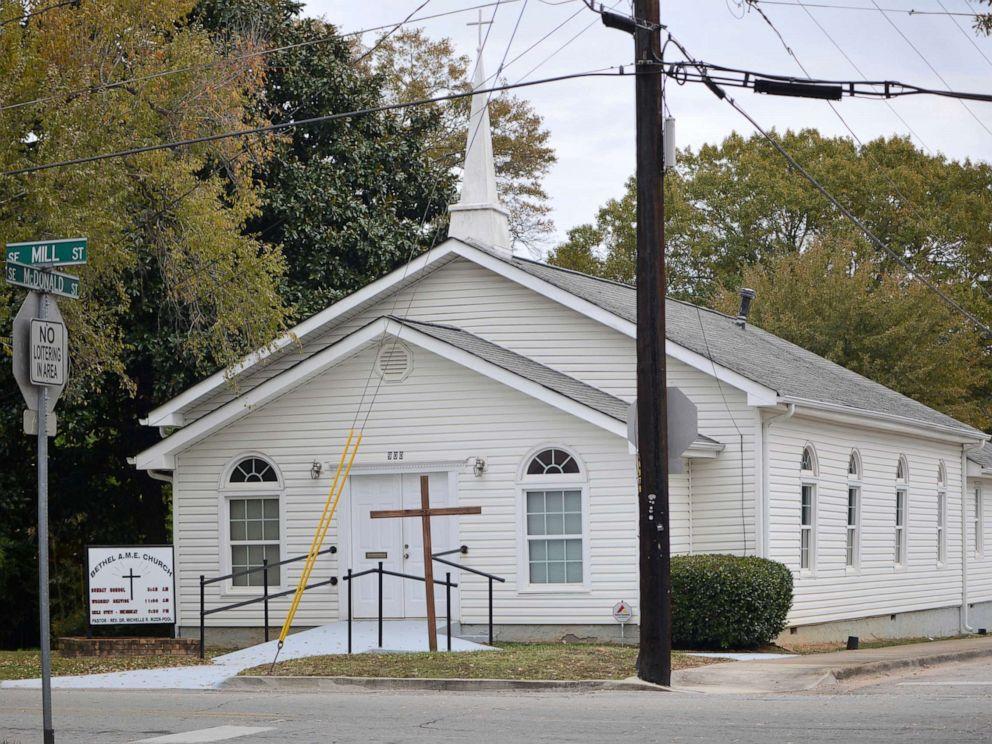 PHOTO: The Bethel African Methodist Episcopal Church is pictured in Gainesville, Ga., Nov. 19, 2019.