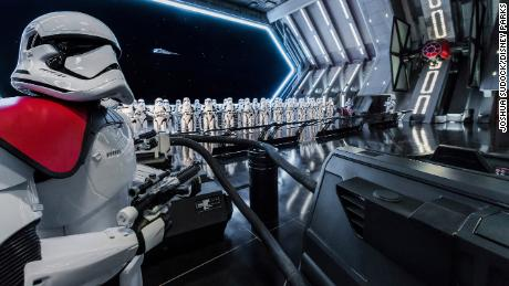 Disney guests will traverse the corridors of a Star Destroyer and join an epic battle between the First Order and the Resistance, including a face-off with Kylo Ren.
