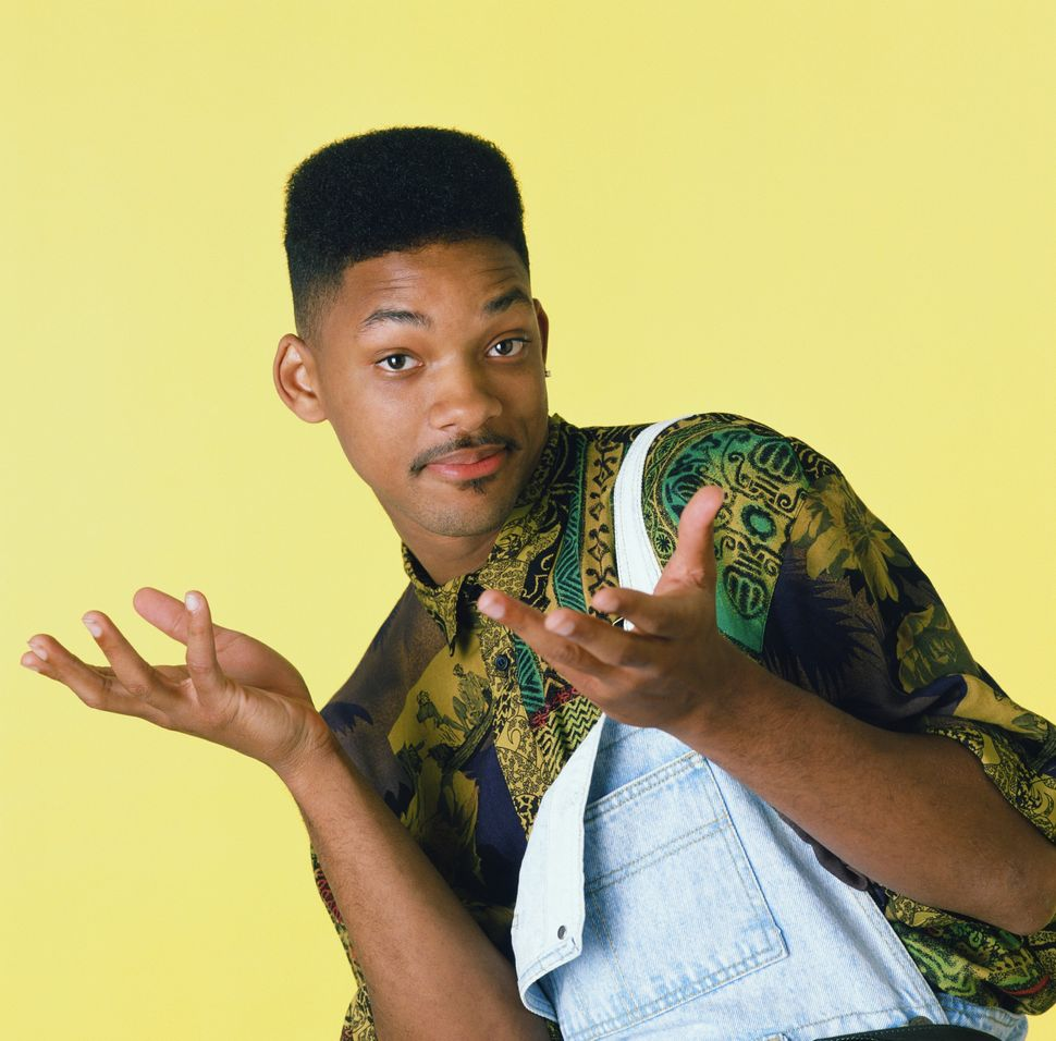 """Will Smith as William 'Will' Smith in the """"Fresh Prince of Bel Air."""""""